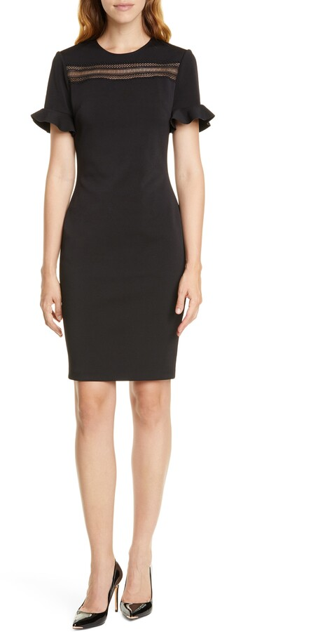 Ted Baker Livsia Lace Inset Sheath Dress