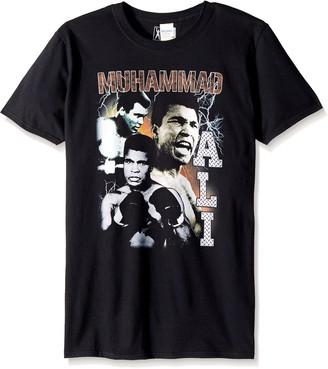 American Classics Unisex-Adults Big and Tall Muhammad Ali Bootleg Short Sleeve T-Shirt