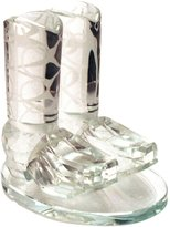 Godinger Crystal Cowboy Boots