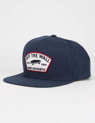 Vans Trask Dress Mens Blue Snapback Hat
