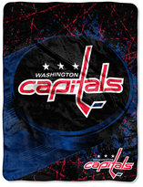 Northwest Company Washington Capitals Micro Raschel Ice Dash Throw Blanket