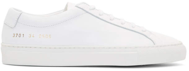 Common Projects Woman By Woman by White Original Achilles Low Sneakers