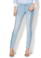 New York & Co. Soho Jeans - Two-Tone Skinny - Blue Story Wash