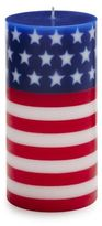 Sur La Table Stars and Stripes Pillar Candle