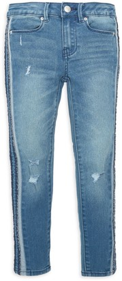 Calvin Klein Girl's Distressed Jeans