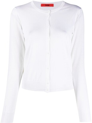Roberto Collina Buttoned-Up Wool Cardigan