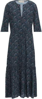 Vanessa Bruno Printed Crepe Midi Dress