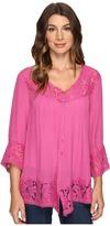 Brigitte Bailey Fennec Lace Top Women's Clothing