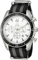 Jivago Men's 'Timeless' Quartz Stainless Steel Casual Watch (Model: JV4510NBK)