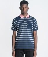 Luke 1977 Albarn Stripe Polo Shirt