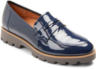 Vionic Patent Slip-On Loafers - Cheryl