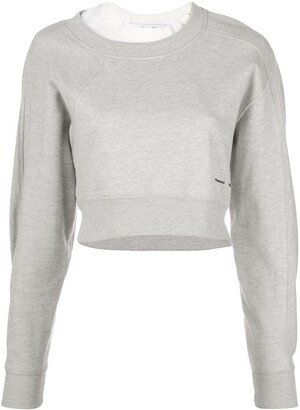 Proenza Schouler White Label Layered Sweatshirt