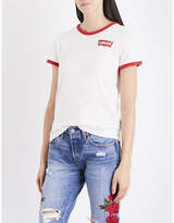Levi's The Perfect Ringer cotton-jersey T-shirt