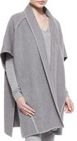 Donna Karan Double-Faced Cashmere Belted Coat