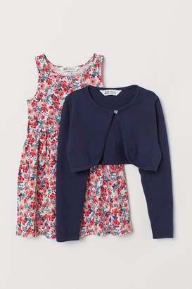 H&M Bolero Jacket and Dress
