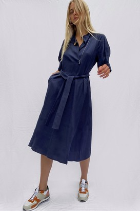 French Connection Sinni Enzo Lyocell Shirt Dress
