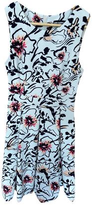 Karl Lagerfeld Paris White Polyester Dresses