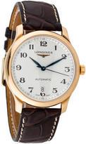Longines 18K Master Automatic Watch