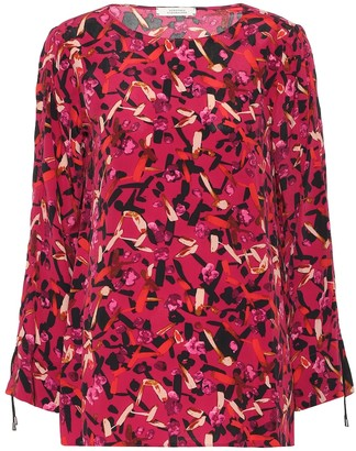 Schumacher Dorothee Exclusive to Mytheresa Printed silk-blend blouse
