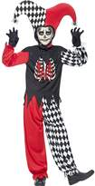Halloween Boys Blood Curdling Jester - Child Fancy Dress Costume