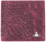 Vivienne Westwood croc-effect wallet - men - Leather - One Size