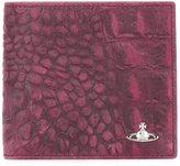 Vivienne Westwood croc-effect wallet
