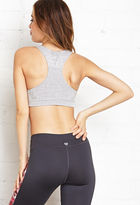 Forever 21 Low Impact- Heathered Seamless Sports Bra