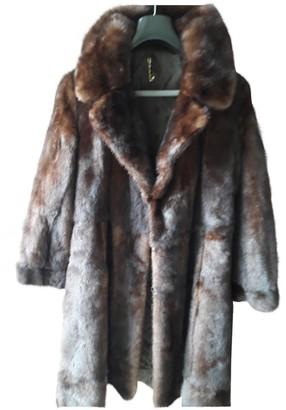JC de CASTELBAJAC Brown Mink Coats
