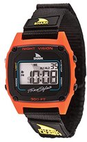 Freestyle Unisex 102244 Shark Fast Strap Retro 80's Digital Black and Red Watch