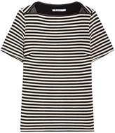 Alexander Wang Striped Boatneck Top