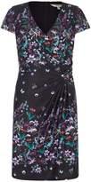 Yumi Botanical Wrap Jersey Dress