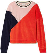Splendid Margherita Sportivo Cotton And Modal-blend Terry Sweatshirt - Red
