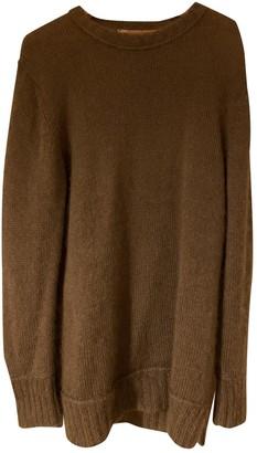 Fendi Khaki Wool Knitwear for Women