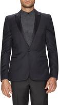 The Kooples Men's Wool Satin Lapel Sportcoat