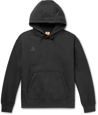 Nike Acg Nrg Fleece-Back Cotton-Blend Jersey Hoodie