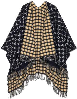 Gucci Double Side Poncho