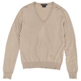 Gucci Gold Silk Knitwear Sweatshirt