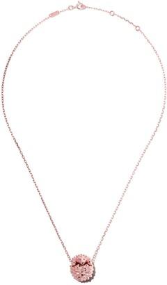 Boucheron 18kt rose gold Hans, the Hedgehog, pendant necklace