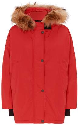 Max Mara Paglia Quilted Hooded Coat
