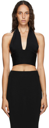 GAUGE81 Black Bilbao Halter Top