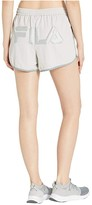 Fila Kati Shorts (Quiet Grey/Lead/Silver) Women's Shorts