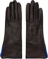 Loewe Black Lambskin Gloves