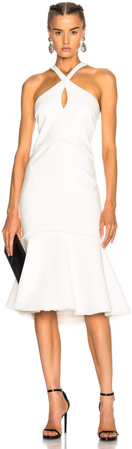 Cinq à Sept Dante Dress in Ivory   FWRD