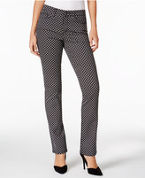 Charter Club Lexington Printed Straight-Leg Jeans, Only at Macy's
