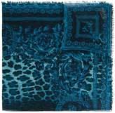 Versace Wild Baroque print scarf