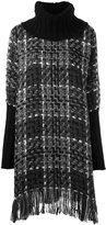 Dolce & Gabbana checked knitted tunic - women - Cotton/Acrylic/Polyamide/Wool - 40