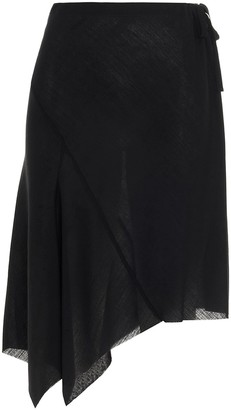 Ann Demeulemeester Asymmetrical Skirt