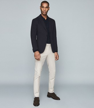 Reiss EASTBURY SLIM SLIM FIT CHINOS Stone