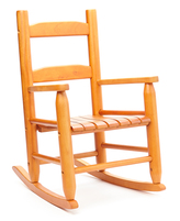 Lipper Pecan Kid's Rocking Chair
