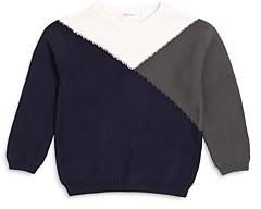 Miles Child Boys' Color Blocked Cotton Sweater - Little Kid